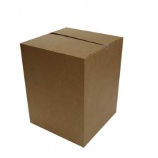 Single walled brown medium box (Item 2017)