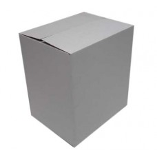 Single walled tall white box (Item 2049)