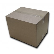 Single walled small brown box (Item 2054)