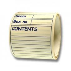 Contents Labels Large